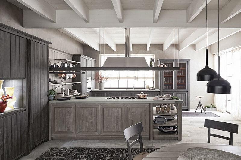 Cucine in legno Maestrale m02