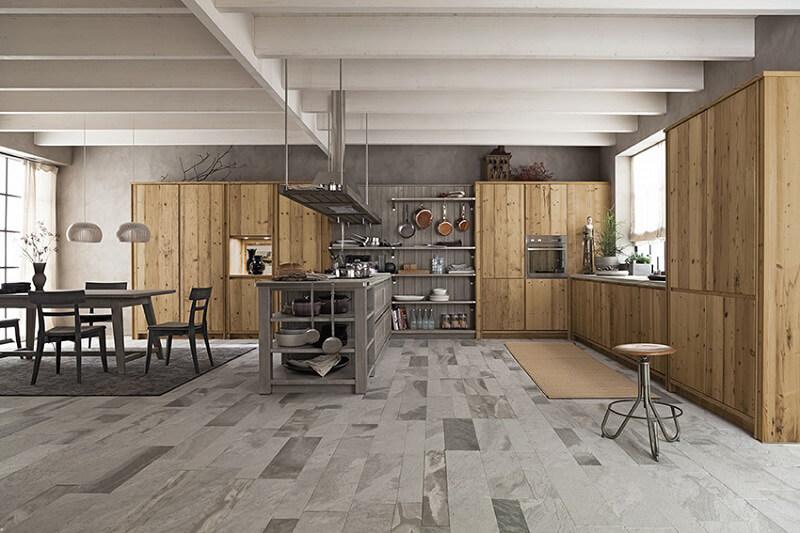 Cucine in legno Maestrale m03