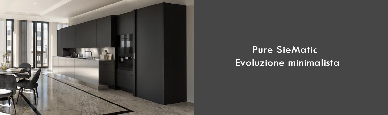 Pure SieMatic: evoluzione minimalista