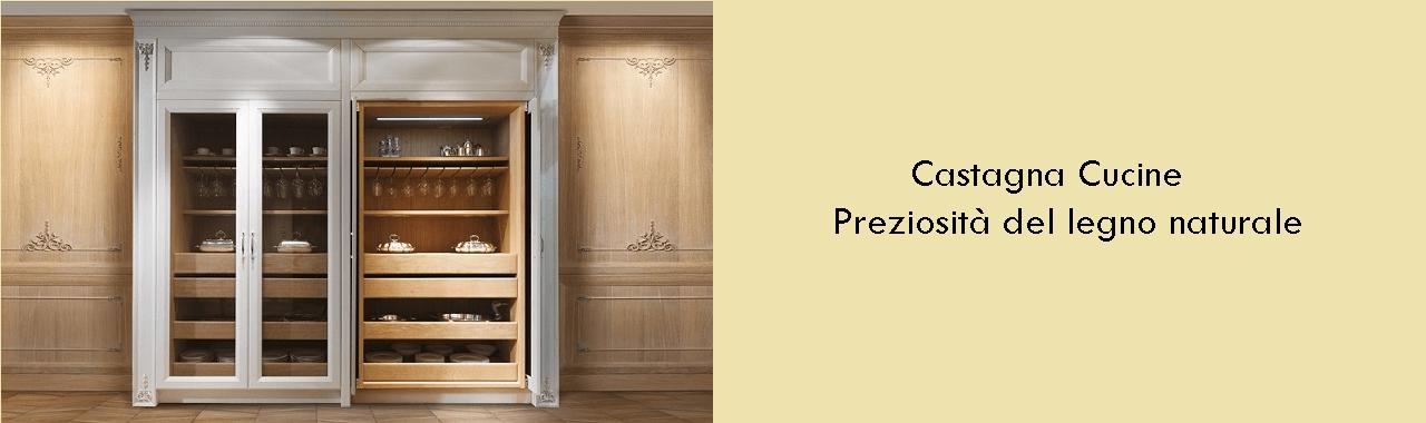 Castagna Cucine: la preziosità del legno naturale