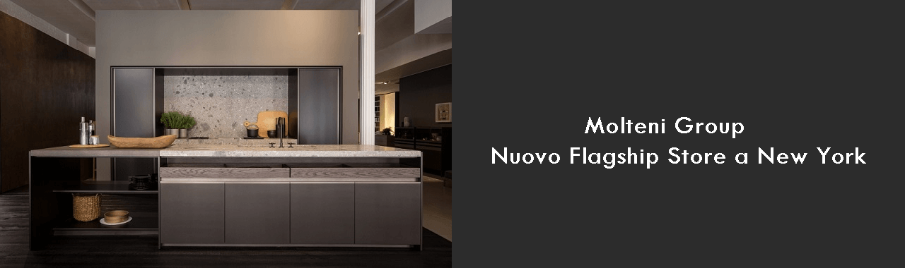 Molteni Group: nuovo Flagship Store a New York