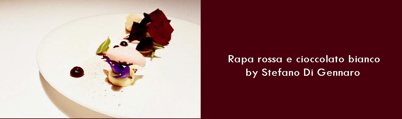 Rapa rossa e cioccolato bianco by Stefano Di Gennaro