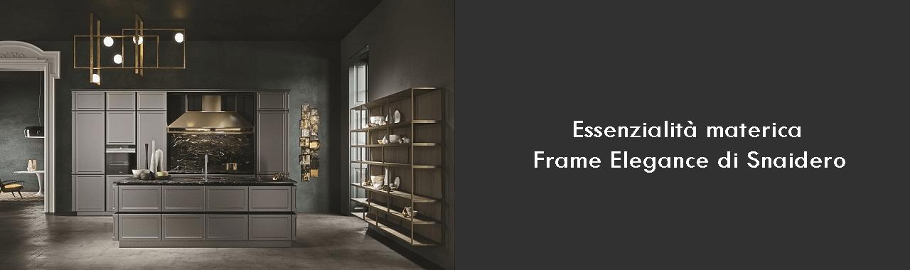 Essenzialità materica: Frame Elegance di Snaidero