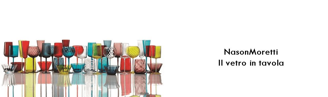 NasonMoretti: il vetro in tavola