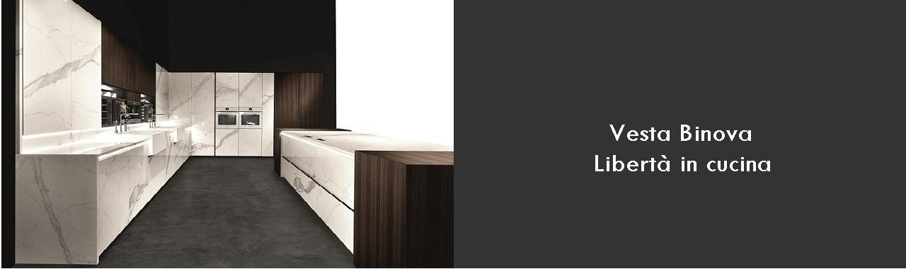 Vesta Binova: libertà in cucina