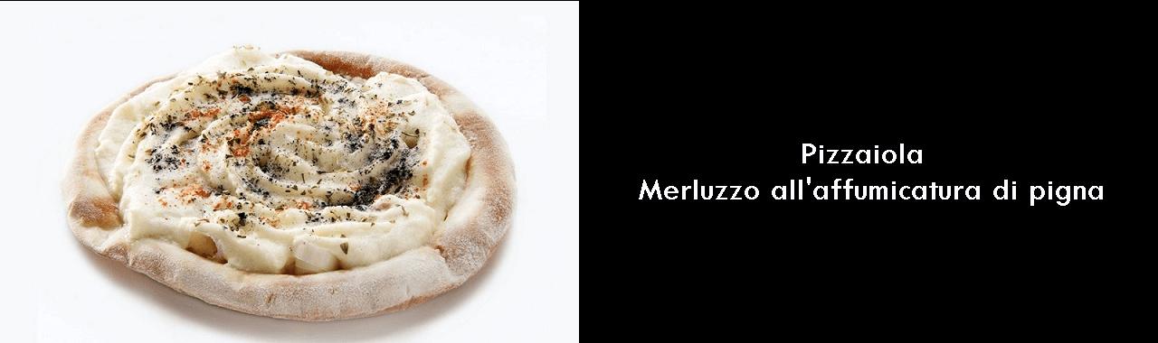 Pizzaiola: merluzzo all'affumicatura di pigna