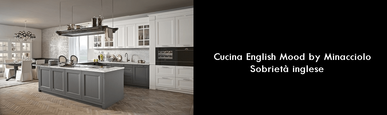 Cucina English Mood by Minacciolo: sobrietà inglese Cucine d\'Italia