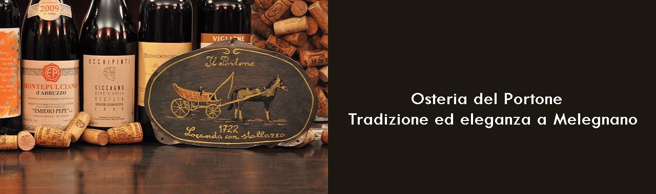 Osteria del Portone: tradizione ed eleganza a Melegnano