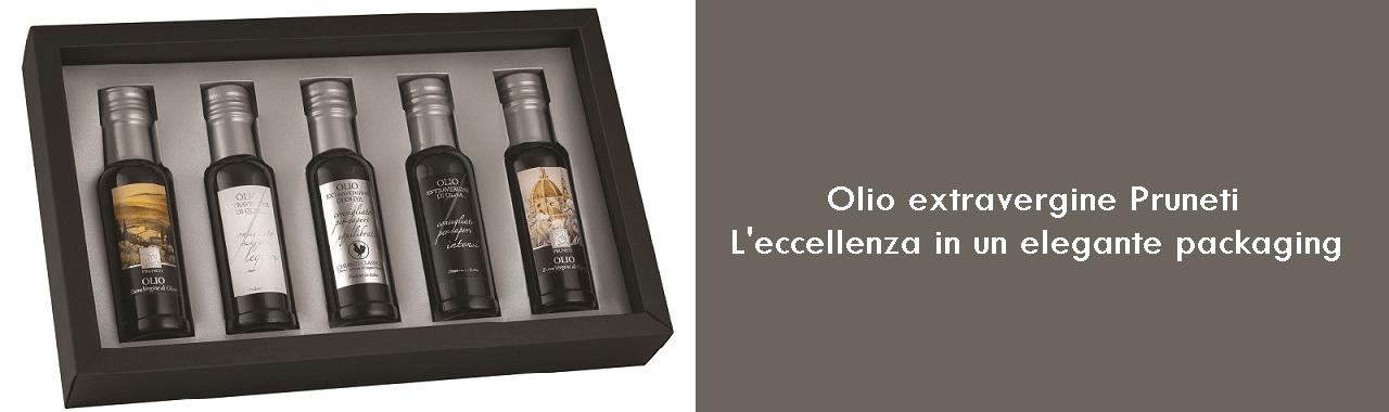 Olio extravergine Pruneti: l'eccellenza in un elegante packaging