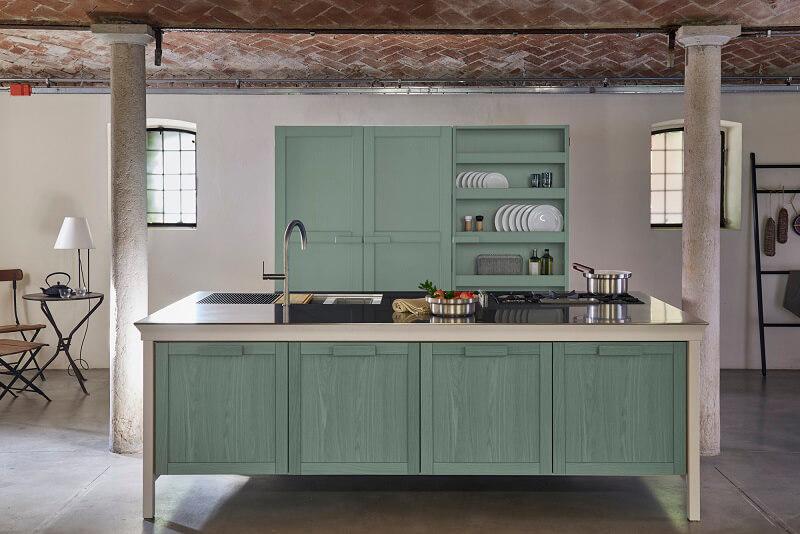 Metalwood Kitchen by Key Cucine
