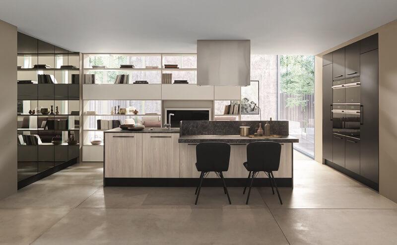 Febal Casa: nuovi materiali e finiture per le cucine Ice e Sand ...