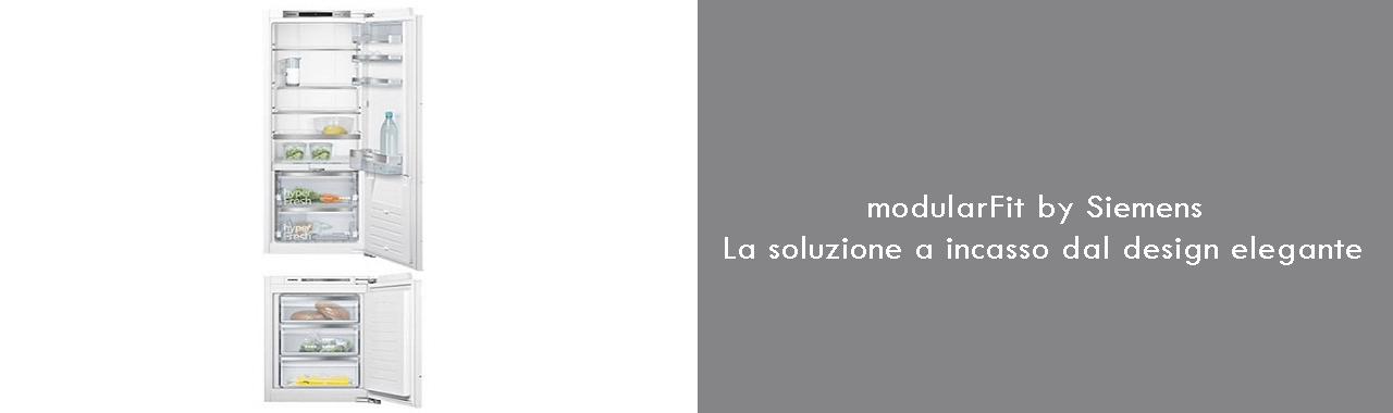 modularFit di Siemens: la soluzione a incasso dal design elegante