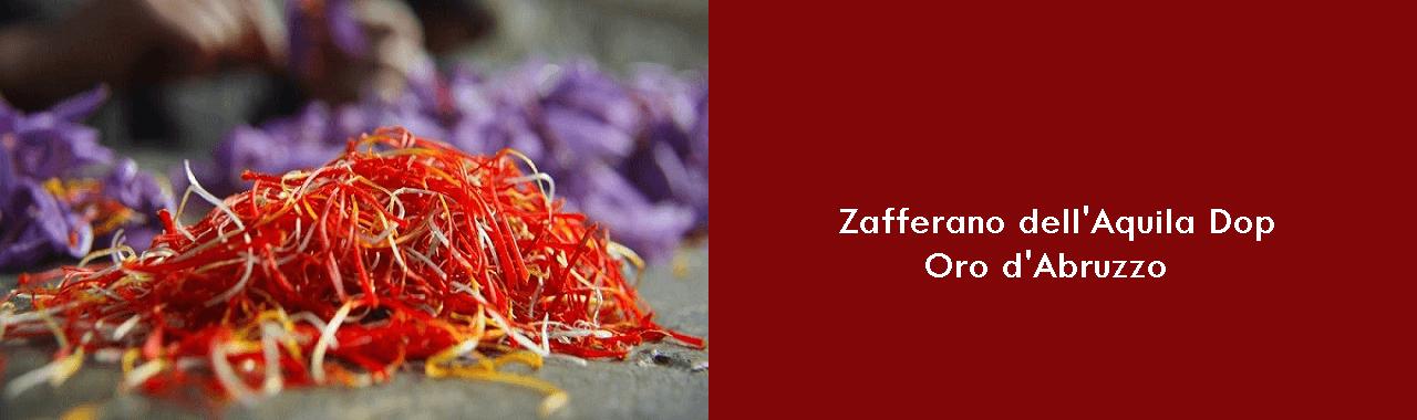 Zafferano dell'Aquila Dop: oro d'Abruzzo