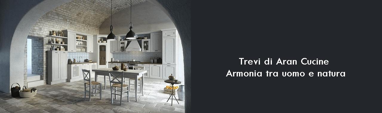 Trevi di Aran Cucine: armonia tra uomo e natura