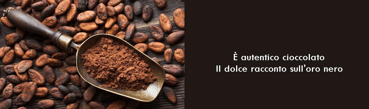 È autentico cioccolato: il dolce racconto sull'oro nero