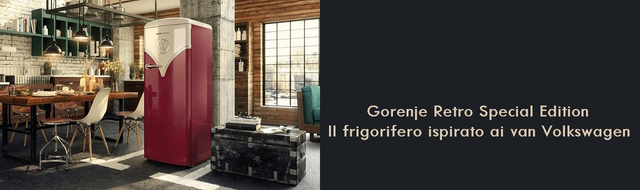 Gorenje Retro Special Edition: il frigorifero ispirato ai van Volkswagen