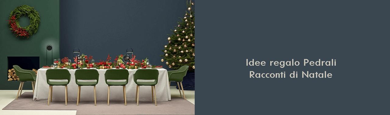 Idee regalo Pedrali: racconti di Natale