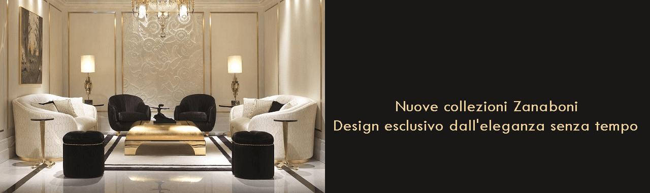 Nuove collezioni Zanaboni: design esclusivo dall'eleganza senza tempo