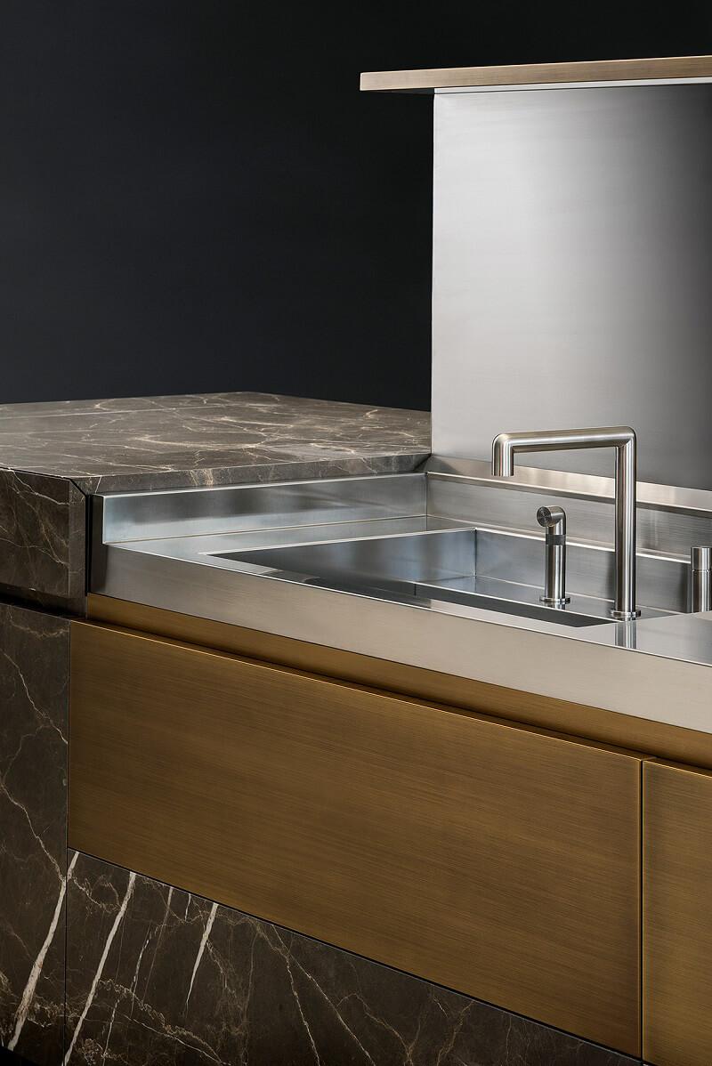 Neolite tm italia l evoluzione della cucina in pietra - Top cucina pietra naturale ...