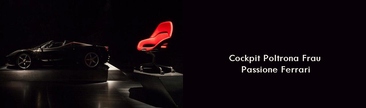 Cockpit Poltrona Frau: passione Ferrari