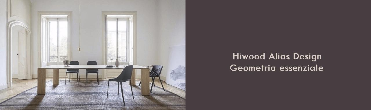 Hiwood Alias Design: geometria essenziale