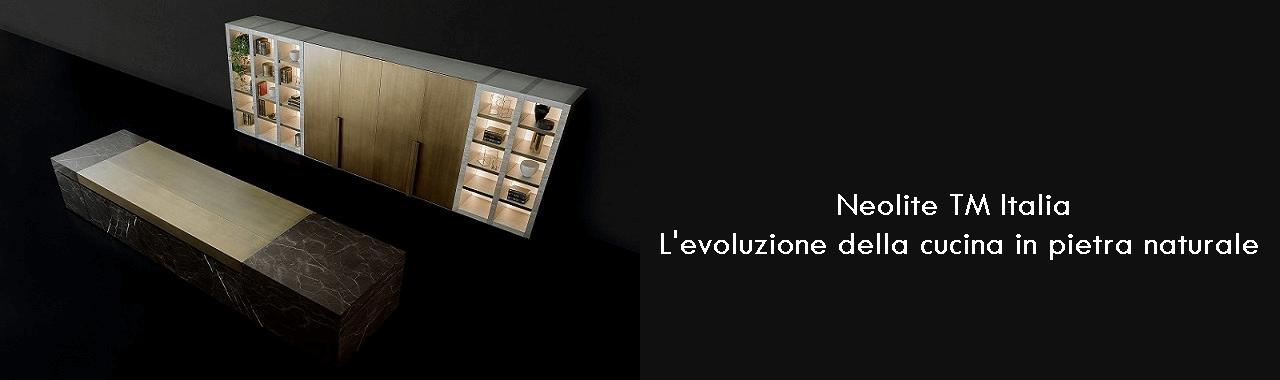 Neolite TM Italia: l'evoluzione della cucina in pietra naturale