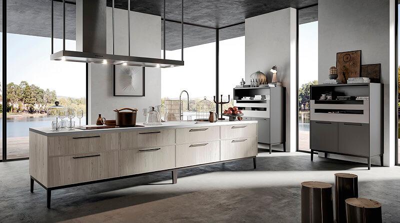Aria di arredo3 leggerezza in cucina cucine d 39 italia for Cucine arredo tre