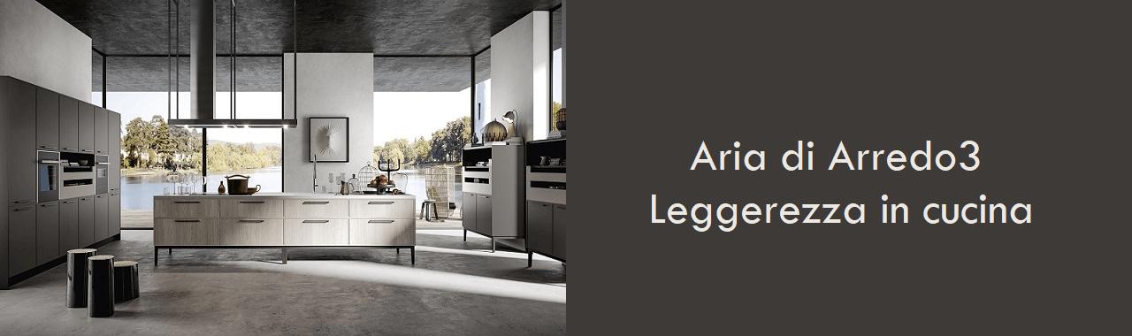 Aria di Arredo3: leggerezza in cucina Cucine d\'Italia