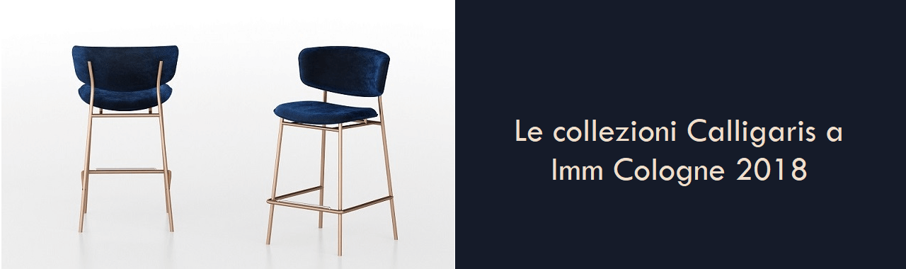 Le collezioni Calligaris a Imm Cologne 2018