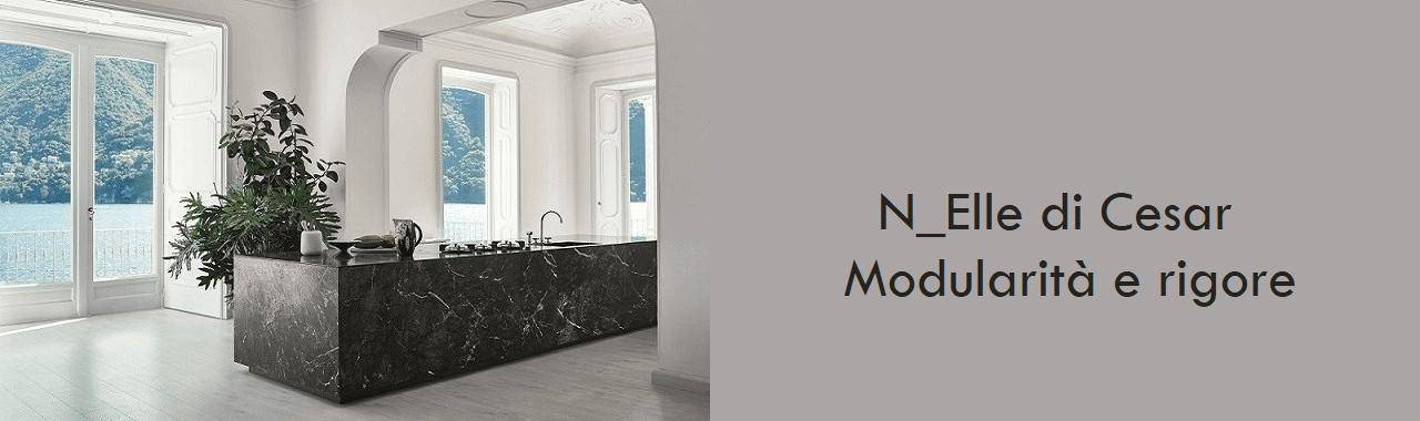 N_Elle di Cesar: modularità e rigore