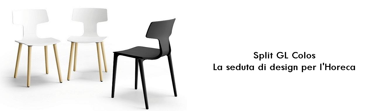 Split GL Colos: la seduta di design per l'Horeca