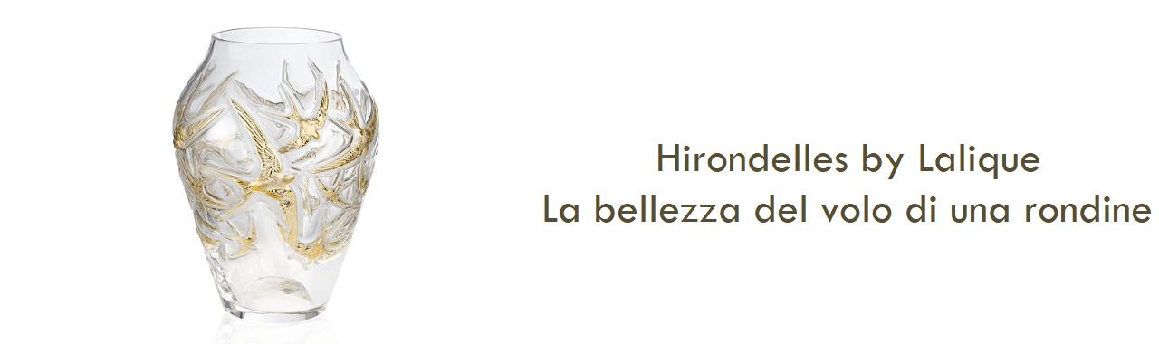 Hirondelles by Lalique: la bellezza del volo di una rondine