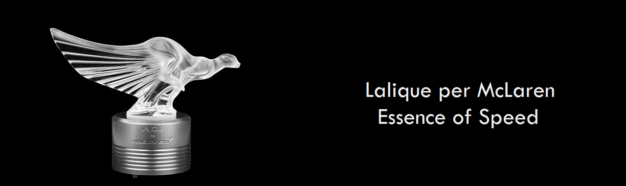 Lalique per McLaren: Essence of Speed