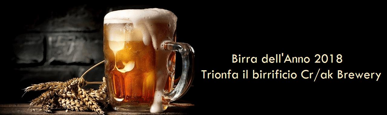Birra dell'anno 2018: trionfa il birrificio padovano Cr/ak Brewery