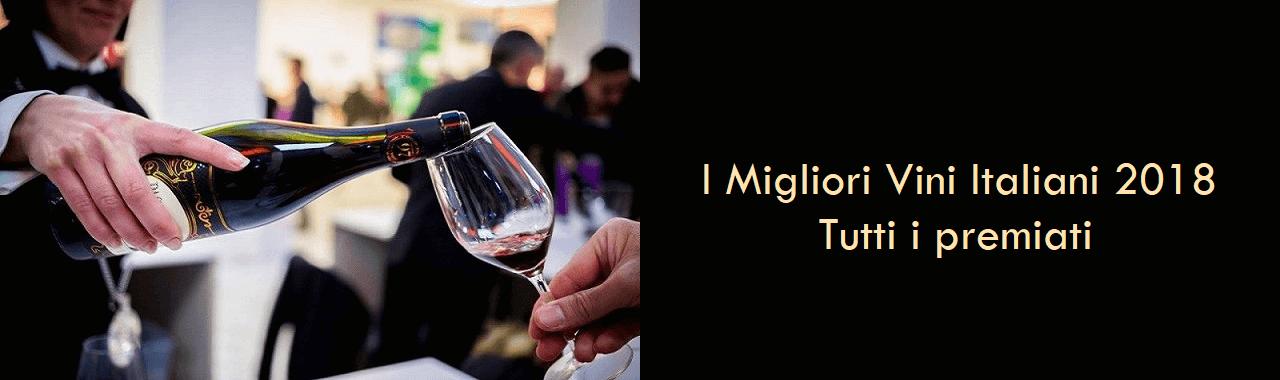 I Migliori Vini Italiani 2018: tutti i premiati