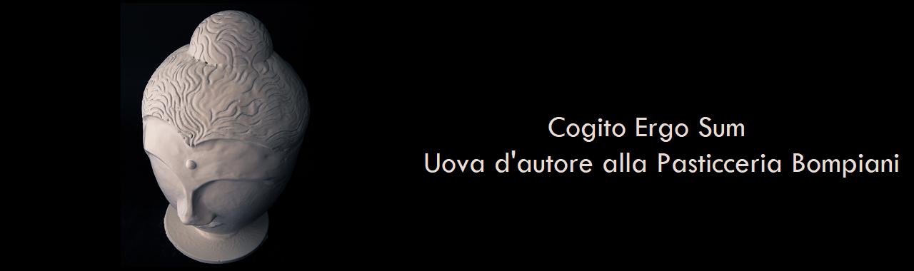 Cogito Ergo Sum: uova d'autore alla Pasticceria Bompiani