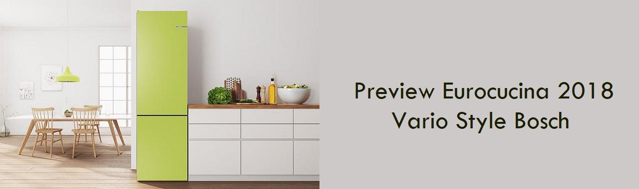 Preview Eurocucina 2018: Vario Style di Bosch