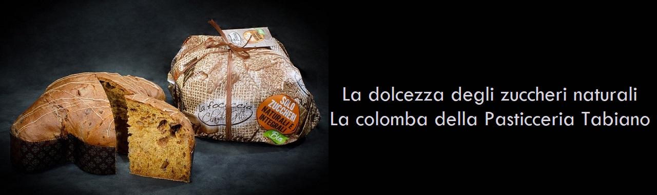 La dolcezza degli zuccheri naturali: la colomba della Pasticceria Tabiano