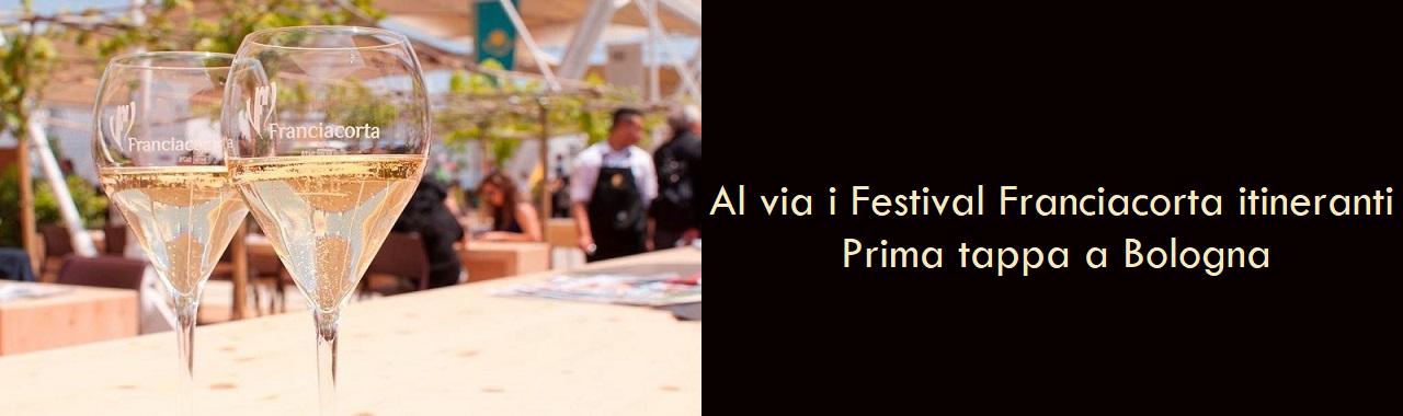 Al via i Festival Franciacorta itineranti: prima tappa a Bologna
