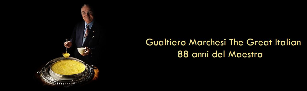 Gualtiero Marchesi The Great Italian: 88 anni del Maestro
