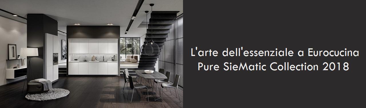 L'arte dell'essenziale a Eurocucina: SieMatic Pure Collection 2018
