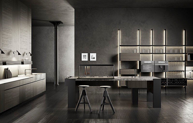 Cucine Cesar Williamsburg Intarsio The 50's
