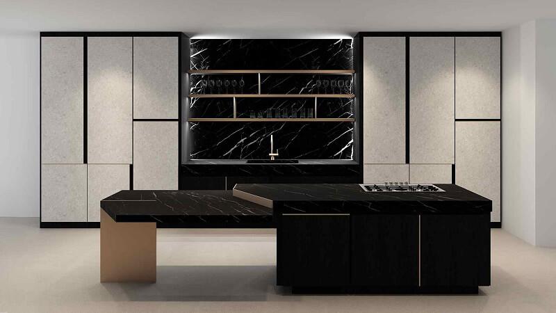 TM Italia: le cucine D90+, Rua e Petra Cucine d\'Italia