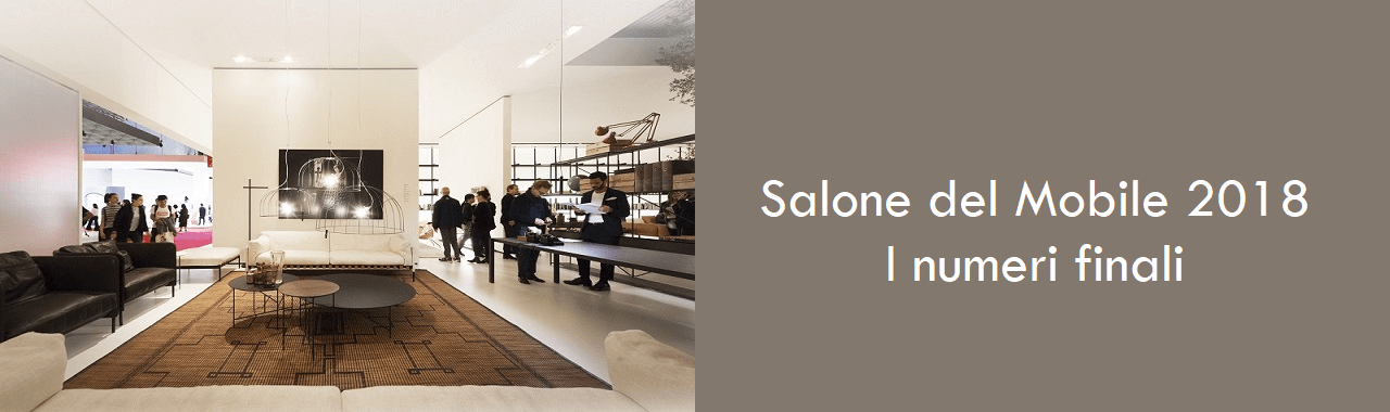 Salone del Mobile 2018: i numeri finali