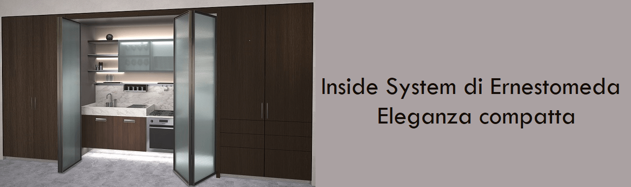 Inside System di Ernestomeda: eleganza compatta