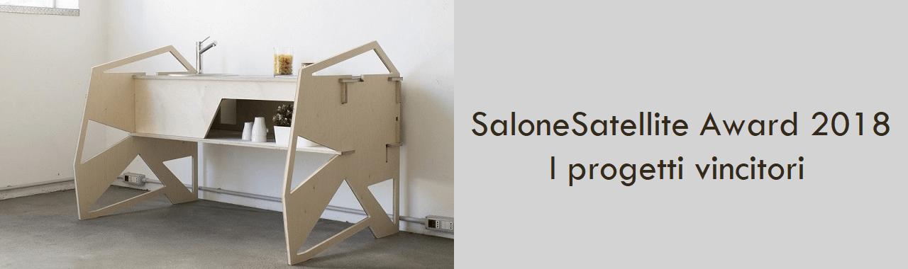 SaloneSatellite Award 2018: i progetti vincitori