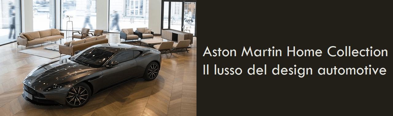 Aston Martin Home Collection: il lusso del design automotive