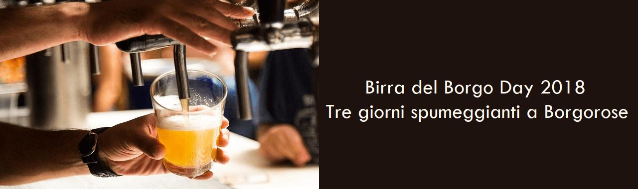 Birra del Borgo Day 2018: tre giorni spumeggianti a Borgorose
