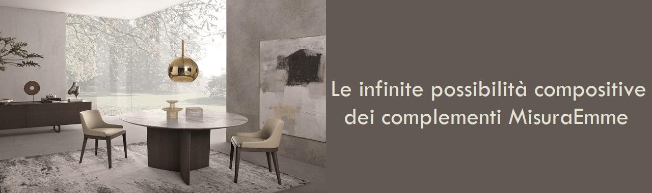 Le infinite possibilità compositive dei complementi MisuraEmme