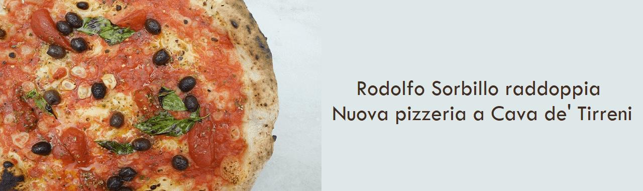 Rodolfo Sorbillo raddoppia: nuova pizzeria a Cava de' Tirreni